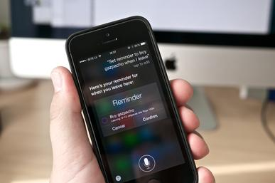 Siri interface